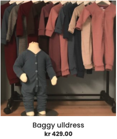 Baggy ulldress